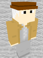 Doc Brown 1885 Minecraft Skin Preview by THATANIMATEDGUY