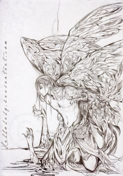 Lasael - Fallen Angel by Hellobaby