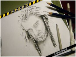 Thorin Oakenshield - WIP by thewholehorizon