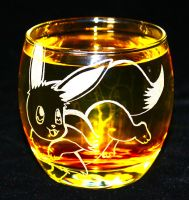 Eevee Orbit glass by PokeEtch