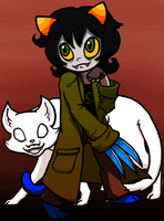 Nepeta Leijon - Color by PinkNinjaKitten