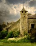 Castle Tower by Operaghost1