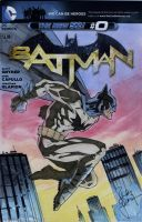 Batman Sketch Cover Heroescon 2013 by RandyGreen