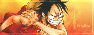 Luffy sig by KingS1ngh