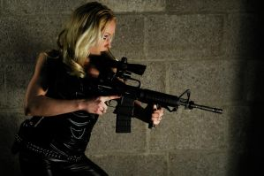 Gungirl Belgium Shoot 8 by VXLPhotography