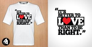 It's better to love than to be right by aryan26