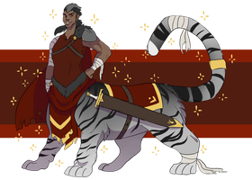 Closed Warlord Tiger Taur OTA by KrocutaKaiju