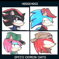 The Hedgehoz by silverfan1999