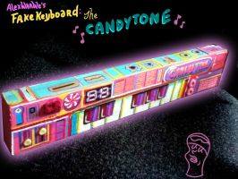 Warble FakeKeyboard CandyTone by hyronomous