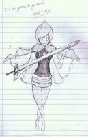 LoZ:SS - Adelle - Sketch by Redfred92