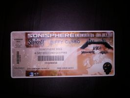 Sonisphere Ticket by negative-creeq