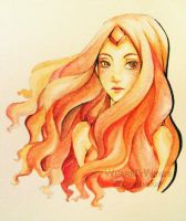 Flame Princess by WearMyWings