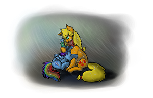 The Cripled Rainbow by Toshiko-paws