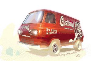 Gas Monkey Swag Van by candyrod