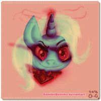 The powerful and malevolous Trixie by Gamibrii