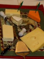 Cheese Plate by fractalfiend