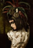 Tribal Portrait IX by Genevieve-Amelia