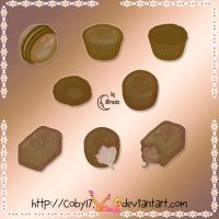 Chocolats PS Brushes by Coby17
