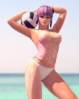 Ayane Volleyball by RadiantEld