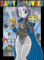 Halloween Raven and Co by XJKenny