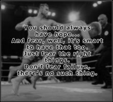 Have Hope - MMA Style by krazybabe135
