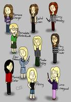 Some Of My Favourite Female Characters by CardiGirl28