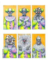 Fritz the Clown by sallemander