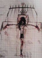 cuffed to the cross by SineLuce
