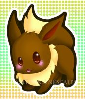 Eevee by Clinkorz