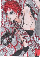 gaara of the desert by fairyloves