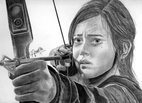 The Last of Us : Ellie by MidwaySky