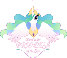 Celestia t shirt design by saturdaymorningproj
