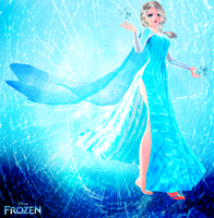 Ice Queen Elsa by Crystallyna