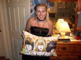 Misa Amane Pillow Pose by I-Belong-To-Vicious