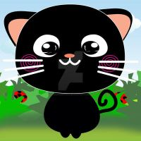 Exoro Designs Emoticons Cat - Happy by ExoroDesigns