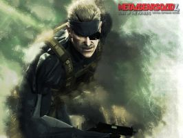 Metal Gear Solid 4 Desktop by TrentPraeger