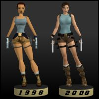 Lara Croft Comparison by LaraRules81