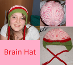 Brain hat by Maintje