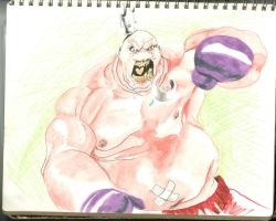 King ( punch my pants off) Hippo by OPendleton