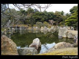 Nijo Castle Lake by dannsegoshi