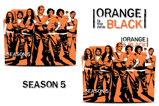 Orange is the new Black Season 5 Folder Icons by MaxineChernikoff