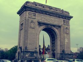 The Arch of Triumph by pavelstones