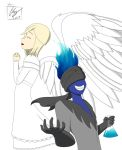 COMMISSION: Azure And Eve by hentaisnail