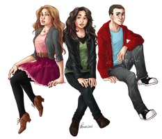 :: the 'our boyfriends are dopey werewolves' club by hawberries