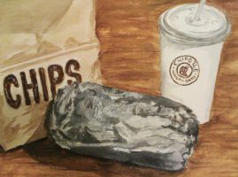 Chipotle Still Life by Nadia354