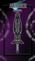 FFVII Custom Broadsword - Oblivion - by WeapondesignerDawe