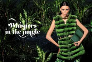 Whispers in the jungle , Infur magazine by SOOO