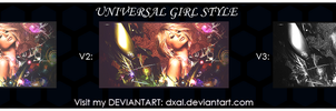 Universal Girl Style by dxal