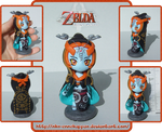 Midna the Twilight Princess - fimo by Nko-ennekappao