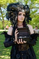 Stock - Faun with a chest fantasy gothic box open by S-T-A-R-gazer